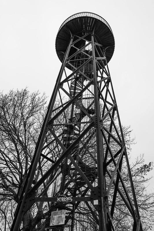 Observatoire Sainte Cécile -Arcachon - Ville d'hiver - Bassin d'Arcachon - Hiver 2016