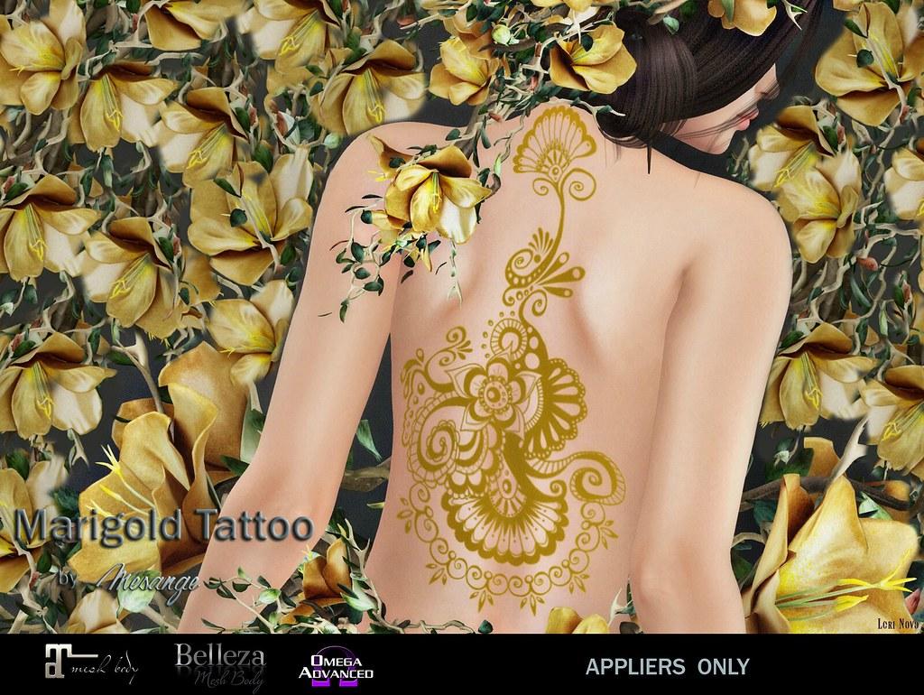 MESANGE – Marigold Tattoo