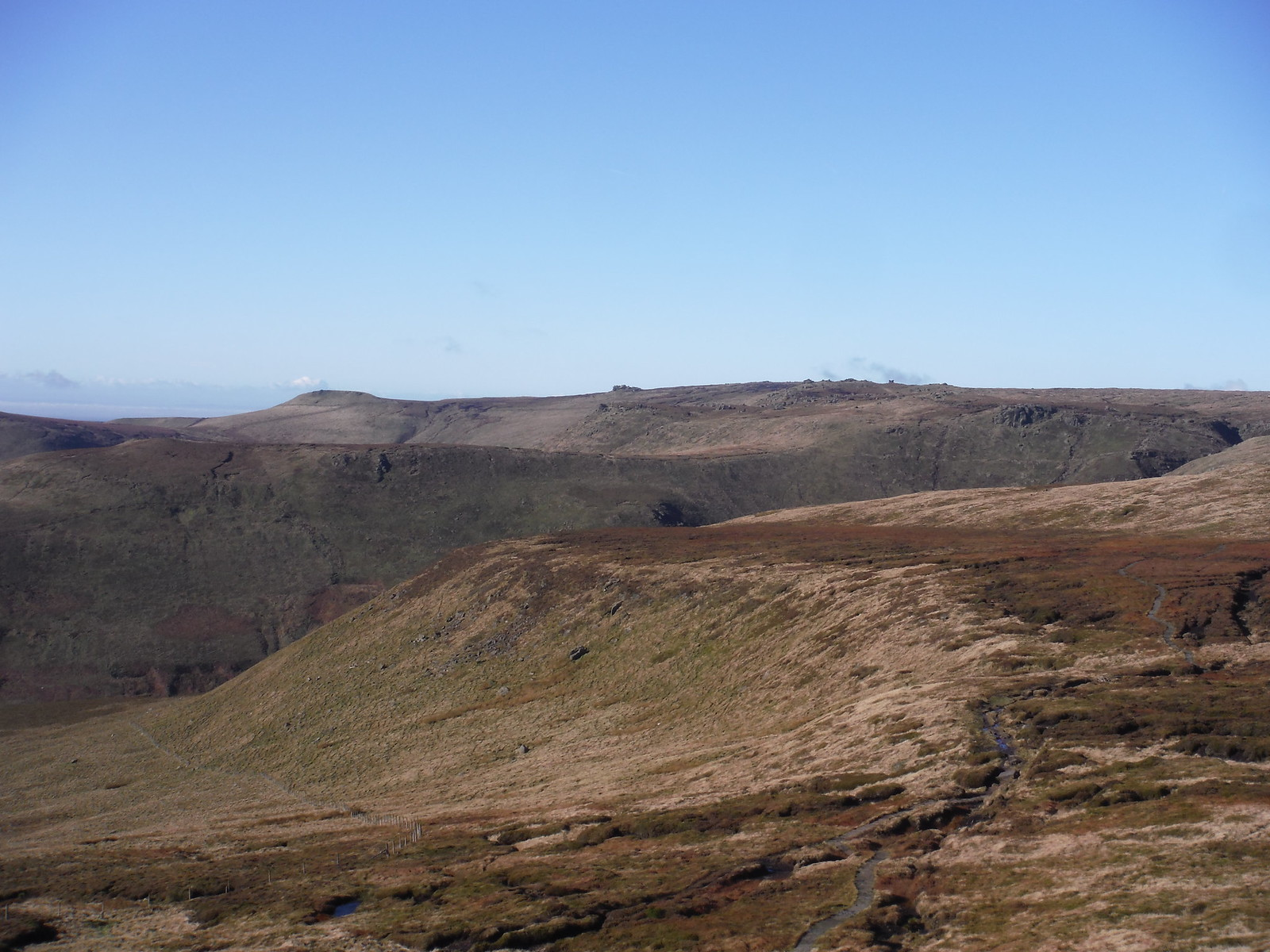 Swine's Back, Edale Rocks SWC Walk 304 - Kinder Scout Circuit (from Edale)