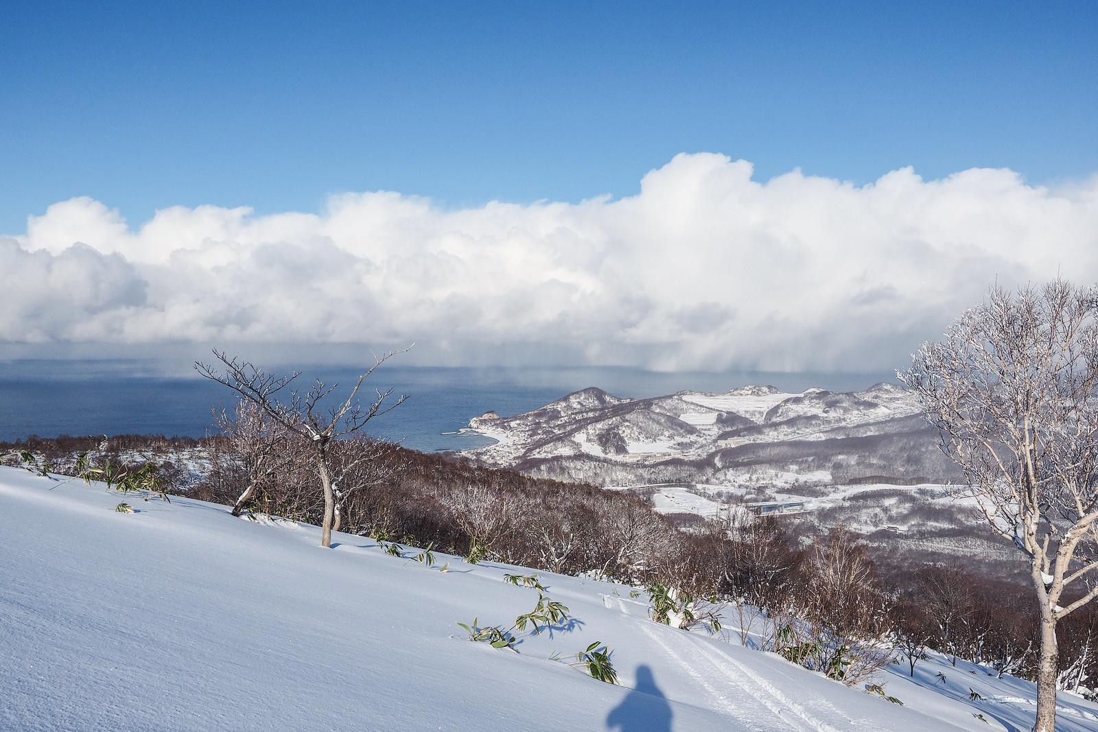 Mt. Shioya-Maruyama Ski Touring (Otaru, Hokkaido, Japan)