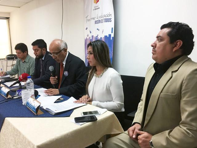 Conversatorio con medios de comunicación Fase Inscribe, Régimen Costa 2018 - 2019