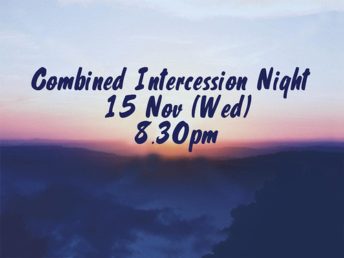 combined intercession night nov