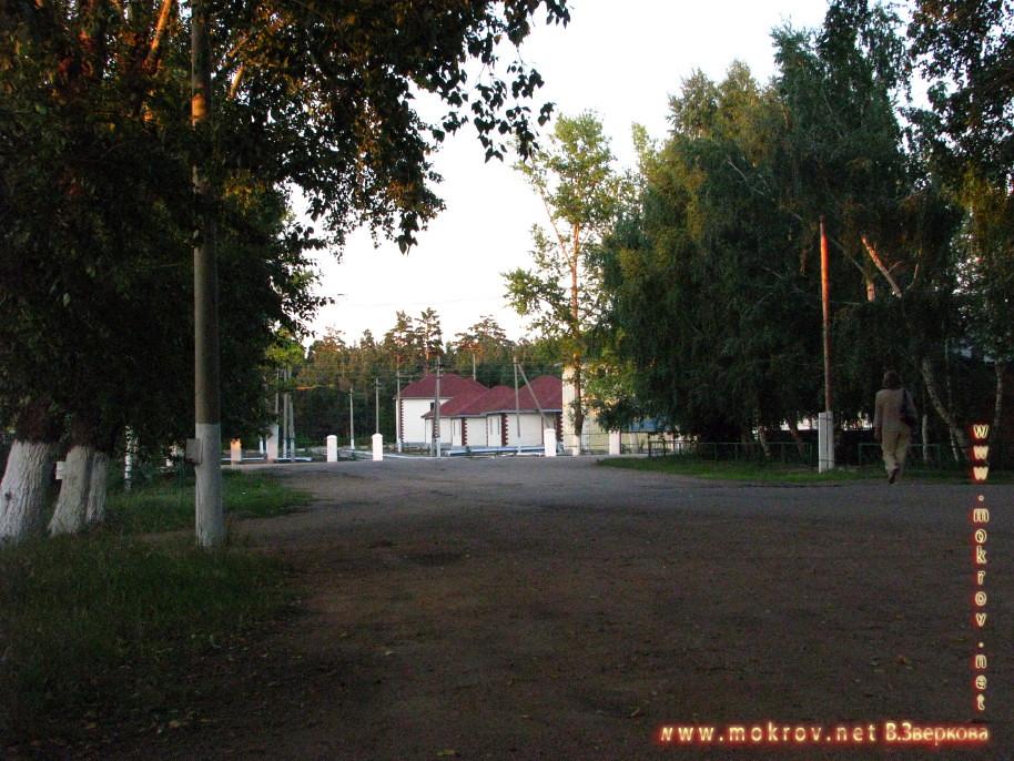 Город Макинск, район степной экспедиции.