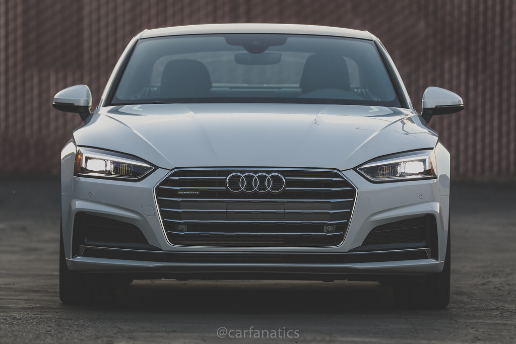 2018 Audi A5 2.0T Coupe is in the CF Garage