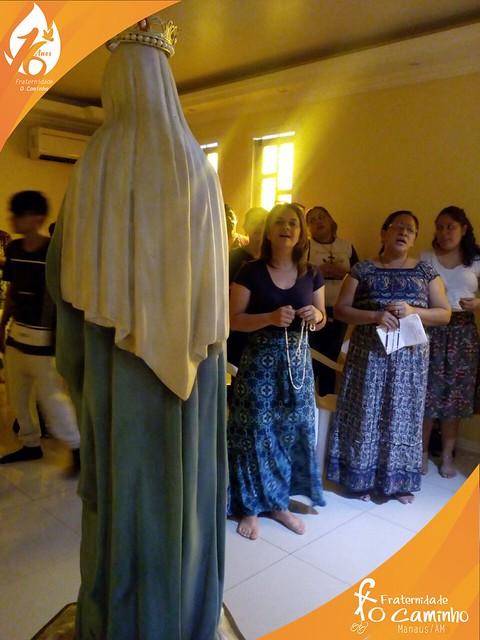 Oração do Rosário Mariano em Manaus/AM