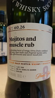 SMWS 60.26 - Mojitos and muscle rub