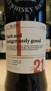 SMWS 26.119 - Dark and dangerously good