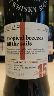 SMWS 52.21 - Tropical breezes fill the sails