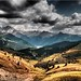 The Dolomites - view from the Sella Pass by Ostseetroll