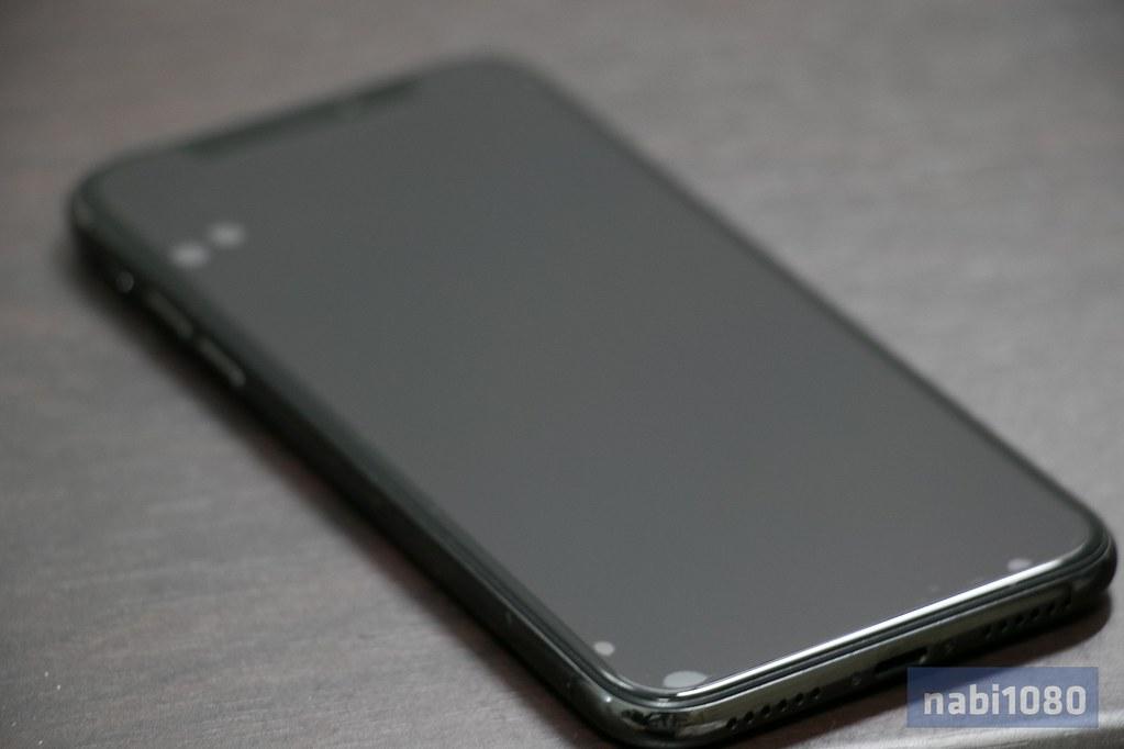 マックスむらいのアンチグレアフィルム iPhone X03
