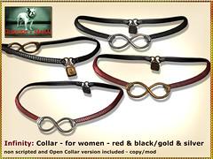 Bliensen - Infinity - Collar for women