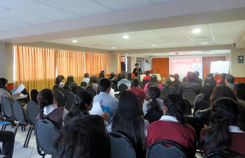"10 - Huaraz I Taller ""Discriminación en los Medios de Comunicación"""