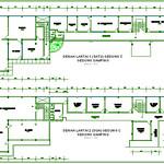 Denah Lantai 1 (satu) dan 2 (dua) Gedung C Gedung Samping
