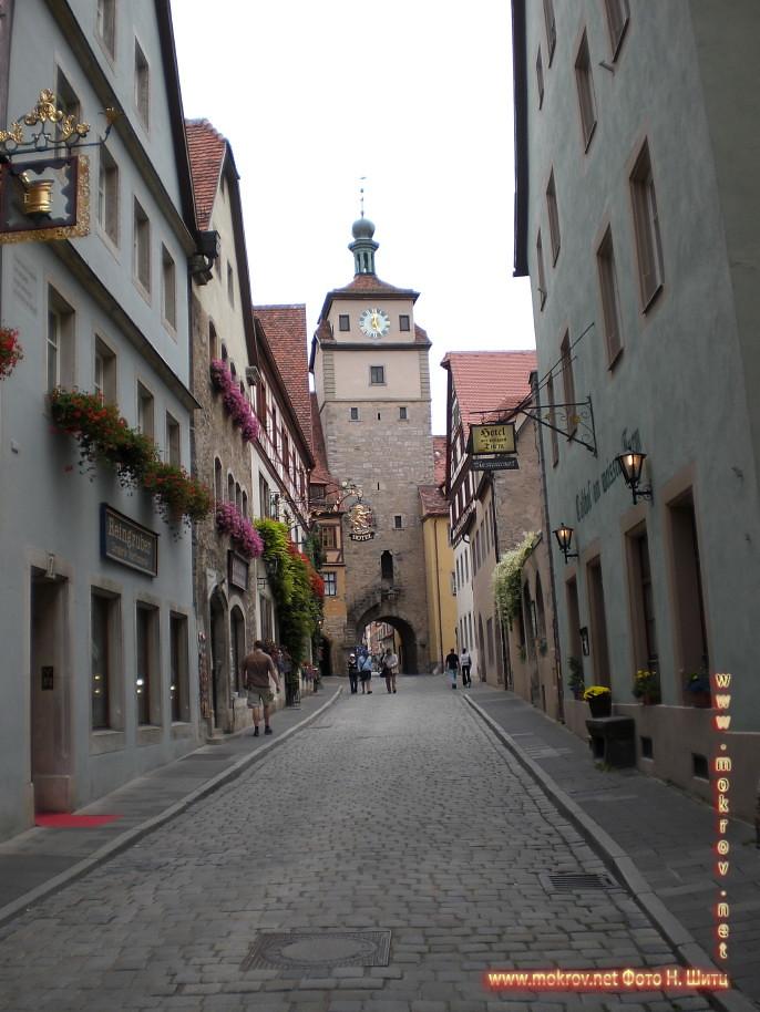 Германия - Ротенбург в этом альбоме фотоработы
