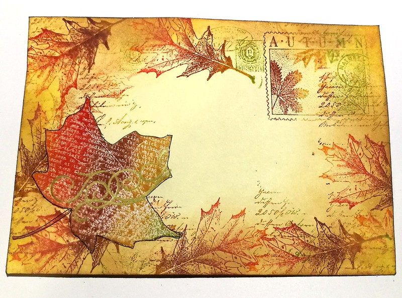 Autumn Mail Art Monday