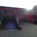Walsall Canal - Wednesbury - Monway Bridge - steps