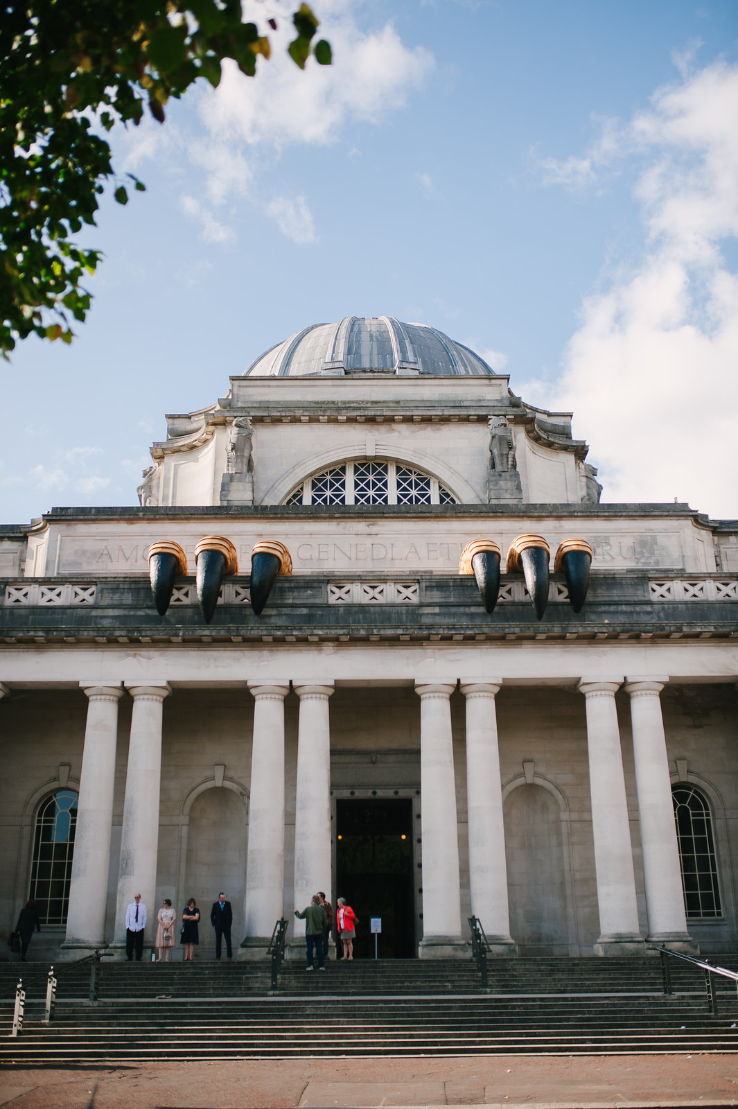 This is a picture of the exterior of the National Museum Cardiff