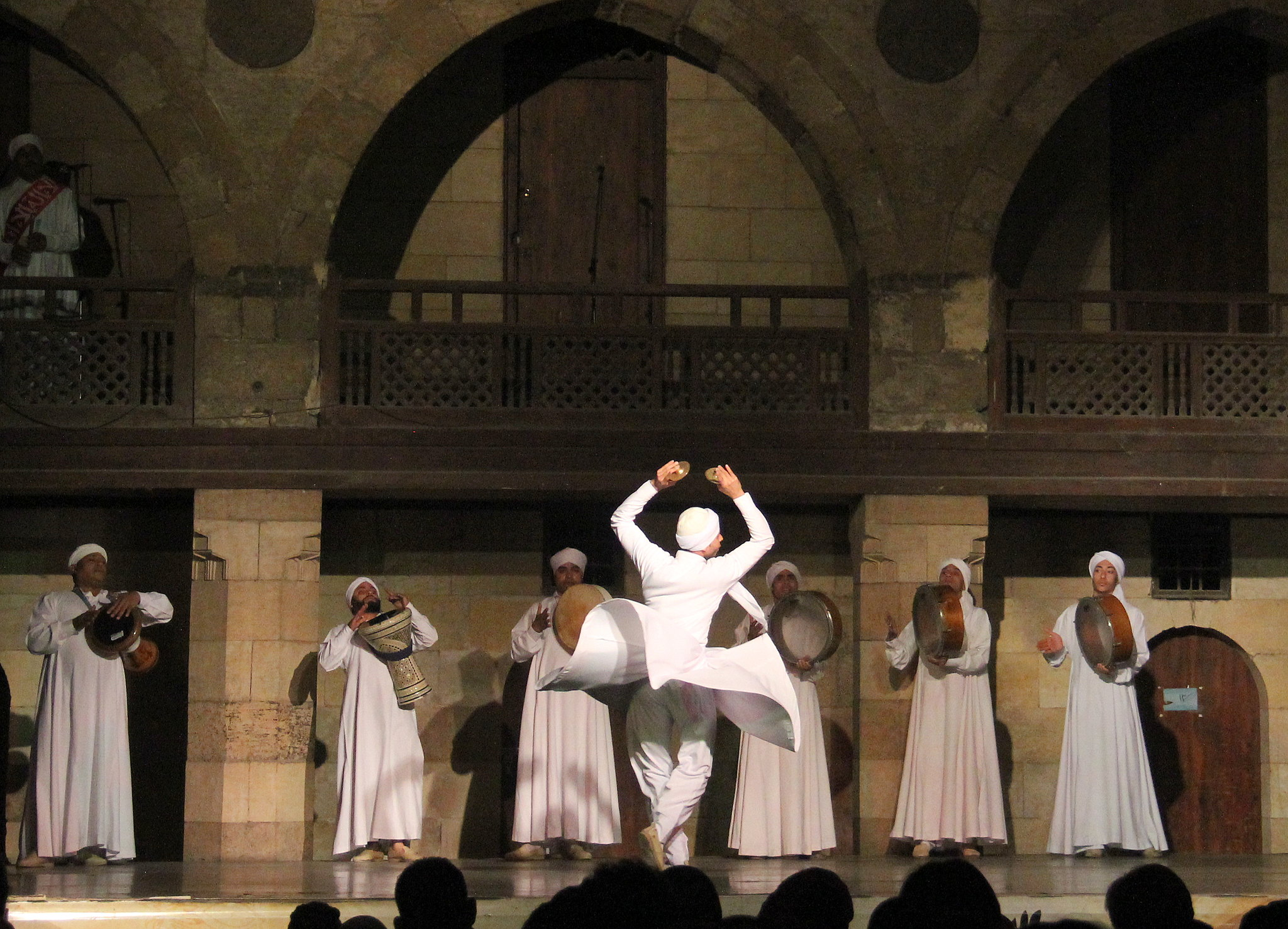Tanoura show can be seen at Cairo