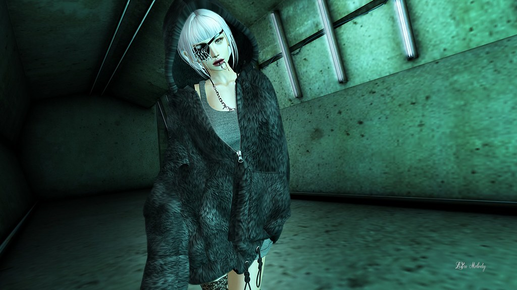 #92 uK - Tunnel Vision Photo Prop@Mancave / ::GB:: Fur Hoodie@District20