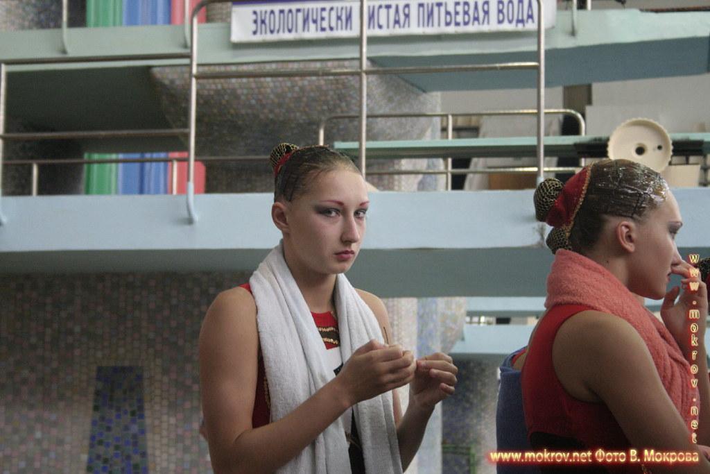 Сборная команда России по синхронному плаванию фотокамерой