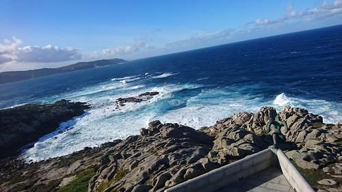 O Atlante mira ao Atlántico entre Sisargas e Roncudo, en Punta Nariga