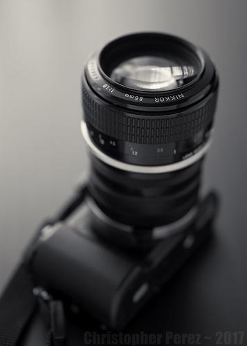 Nikon Nikkor + Lens TurboII + Sony A5000
