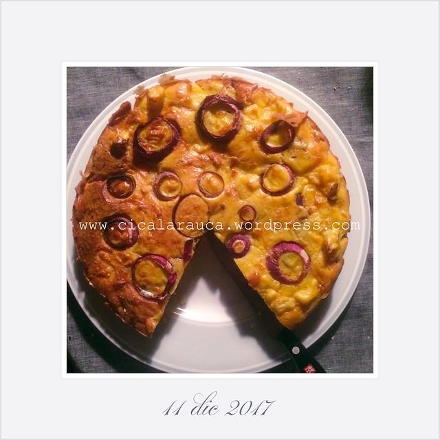 Tortino di Cavolfiore Cauliflower Cake