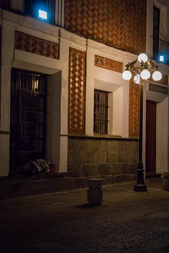 Street Photo Zócalo de la Ciudad de Puebla