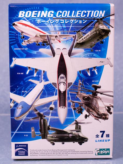 レビュー エフトイズ ボーイングコレクション EA-18Gグラウラー