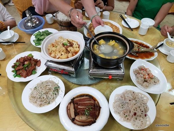 Chinese group meals
