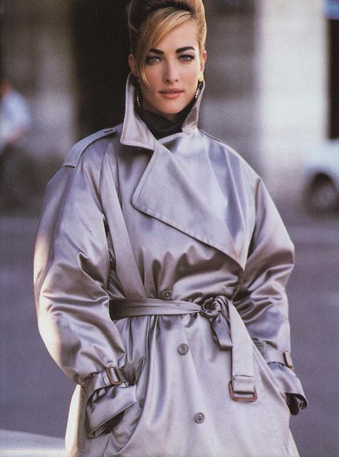 Vogue editorial shot by Patrick Demarchelier 1990