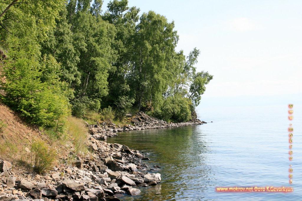 Озеро Байкал фотозарисовки