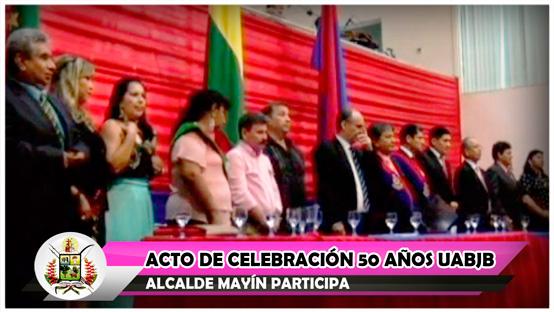 acto-de-celebracion-50-anos-uabjb-alcalde-mayin-participa