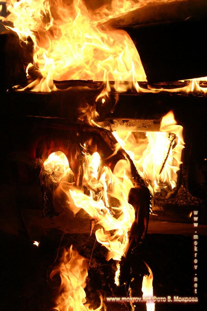 Мистика огня фотопейзажи