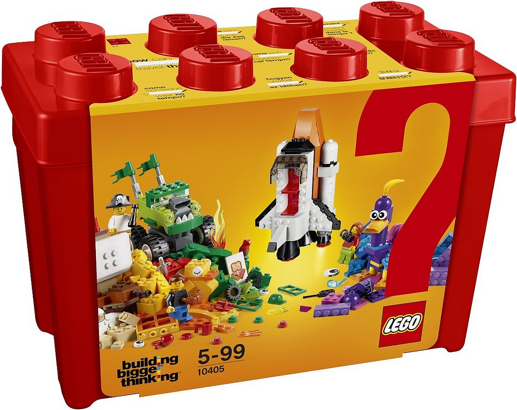 60週年紀念特別盒組登場!!LEGO Building Bigger Thinking 系列 10401~10405 創造出你自己獨一無二的模型吧~