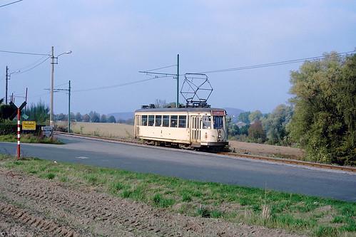Een Henegouwse tramlijn in zijn nadagen