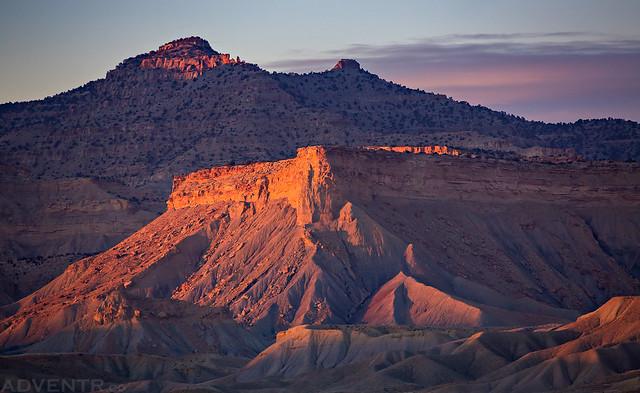 Book Cliffs Sunset
