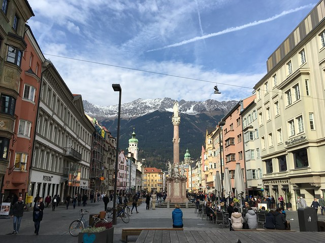 Square in Innsbruck