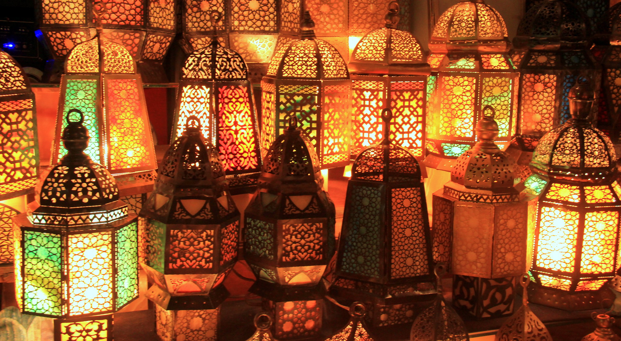 These lamps are mentioned in every khan el khalili guide