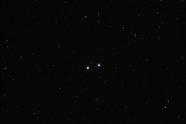 Double double star in Lyra