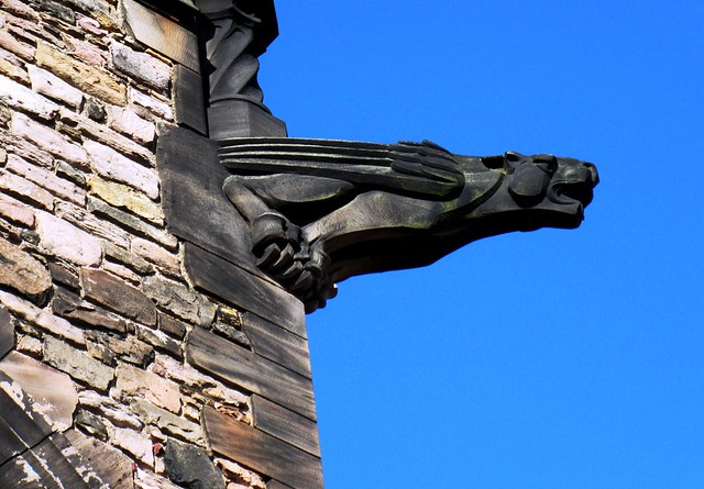Edinburgh Castle - detail (2431), Canon POWERSHOT ELPH 340 HS