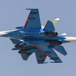 20-blue, Sukhoi Su-27UB Russia Air Force @ Kecskemet LHKE (2)