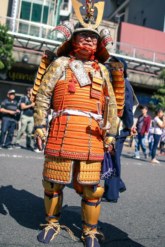 Kachiya Festival Samurai Procession