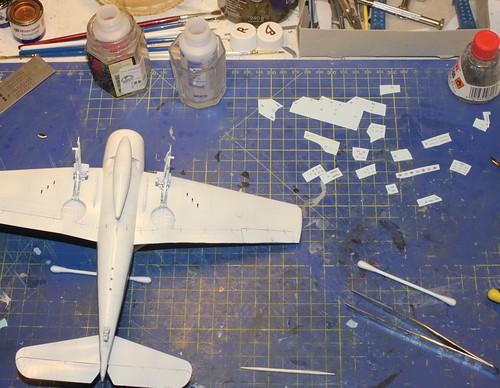 """Grumman F6F-3 Hellcat, """"Vit 19 Vraciu"""", Eduard 1/48 - Sida 3 37461610464_f0cbb463ea"""