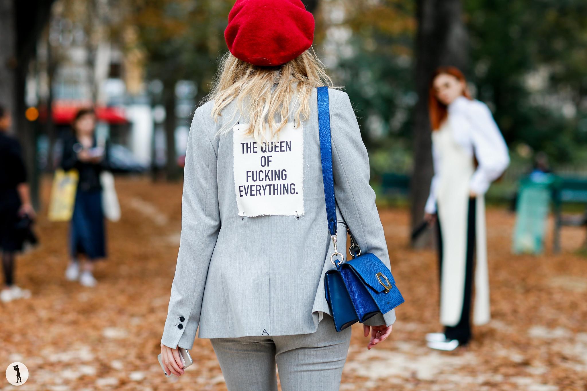 Street style - Paris Fashion Week SS18 (49)