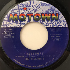 THE JACKSON 5:I'LL BE THERE(LABEL SIDE-A)