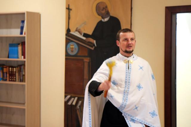В Івано-Франківську освятили приміщення кандидатури