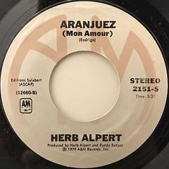 HERB ALPERT:RISE(LABEL SIDE-B)