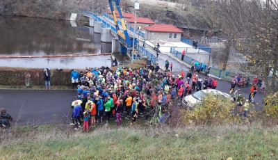 ZBP KADAŇ  CYKLOSTEZKOU PODÉL OHŘE 12.11.2017 6,59 km