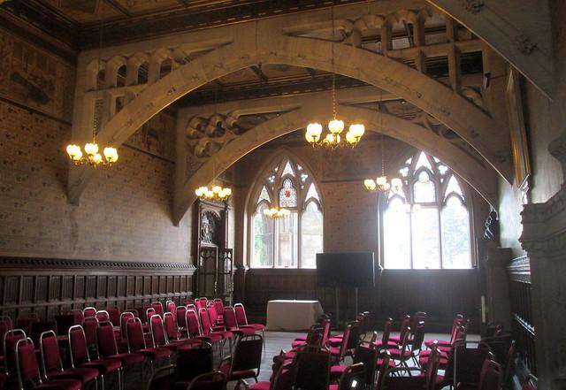 Rochdale Town Hall interior